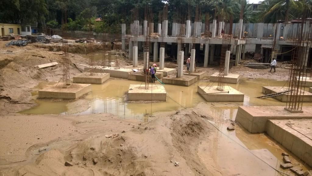 Basement 1 to G Floor columns