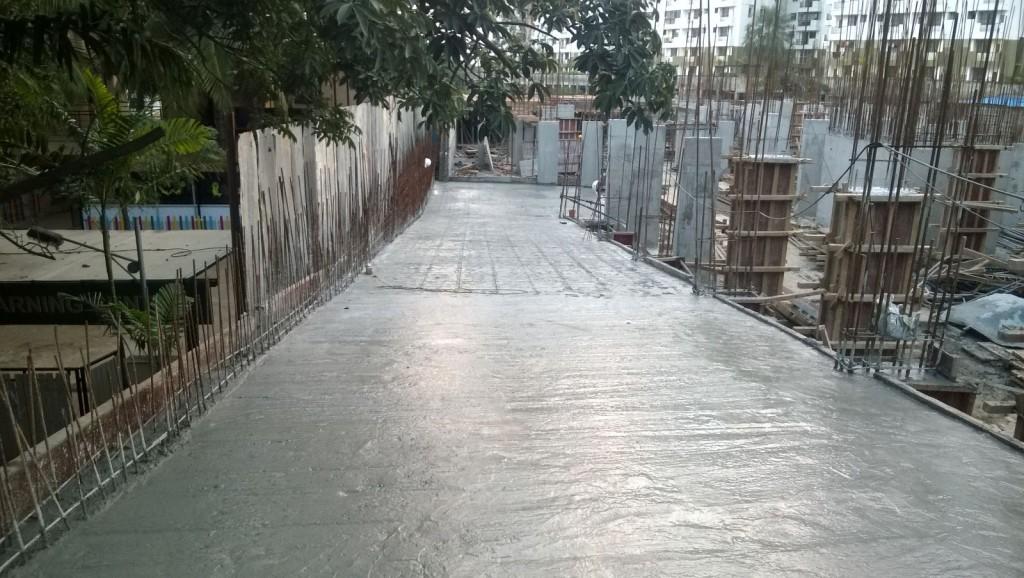 Ramp Concreting Done