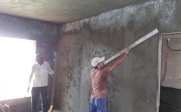 Plastering-master-bedroom